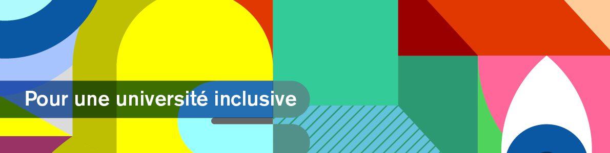 Bannière Web Pour une université inclusive